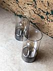Декоративна лампа скляна, фото 2
