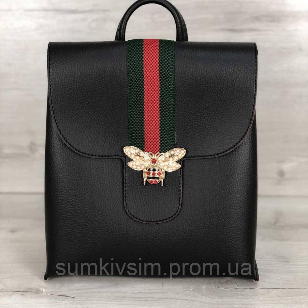 Молодежный рюкзак Барб  черного цвета, фото 1
