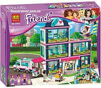 "Конструктор Bela 10761 ""Клиника Хартлейк Сити"" Френдс, 887 деталей. Аналог Lego Friends 41318"