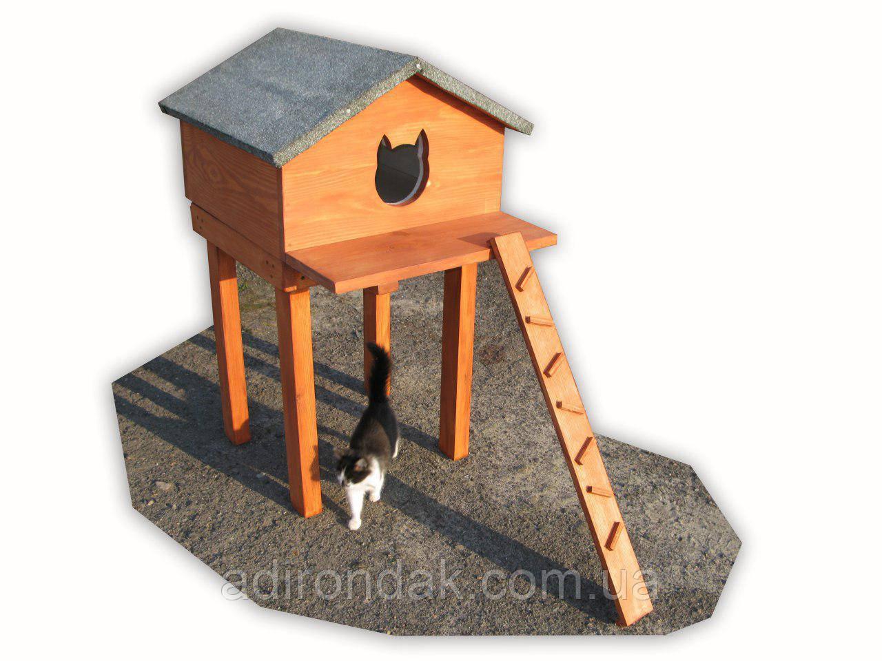 Будиночок на столі, для котиків