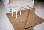 Лижнык карпатское одеяло Однотонный беж 150х200 см, фото 2