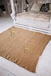 Лижнык карпатское одеяло Однотонный беж 150х200 см, фото 3
