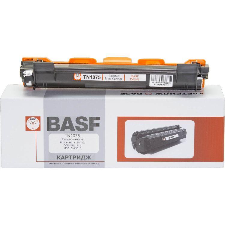 Картридж Brother TN1075, Black, DCP-1510R/1512R/1610WR/1612WR, HL-1110R/1112R/1210WR/1212WR, MFC-1810R/1815R/1912WR, 1.5k, BASF (BASF-KT-TN1075)