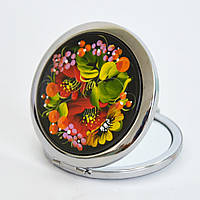 Карманное зеркальце. Сиреневый букет