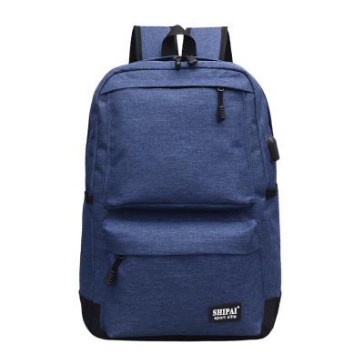 Рюкзак синий с USB