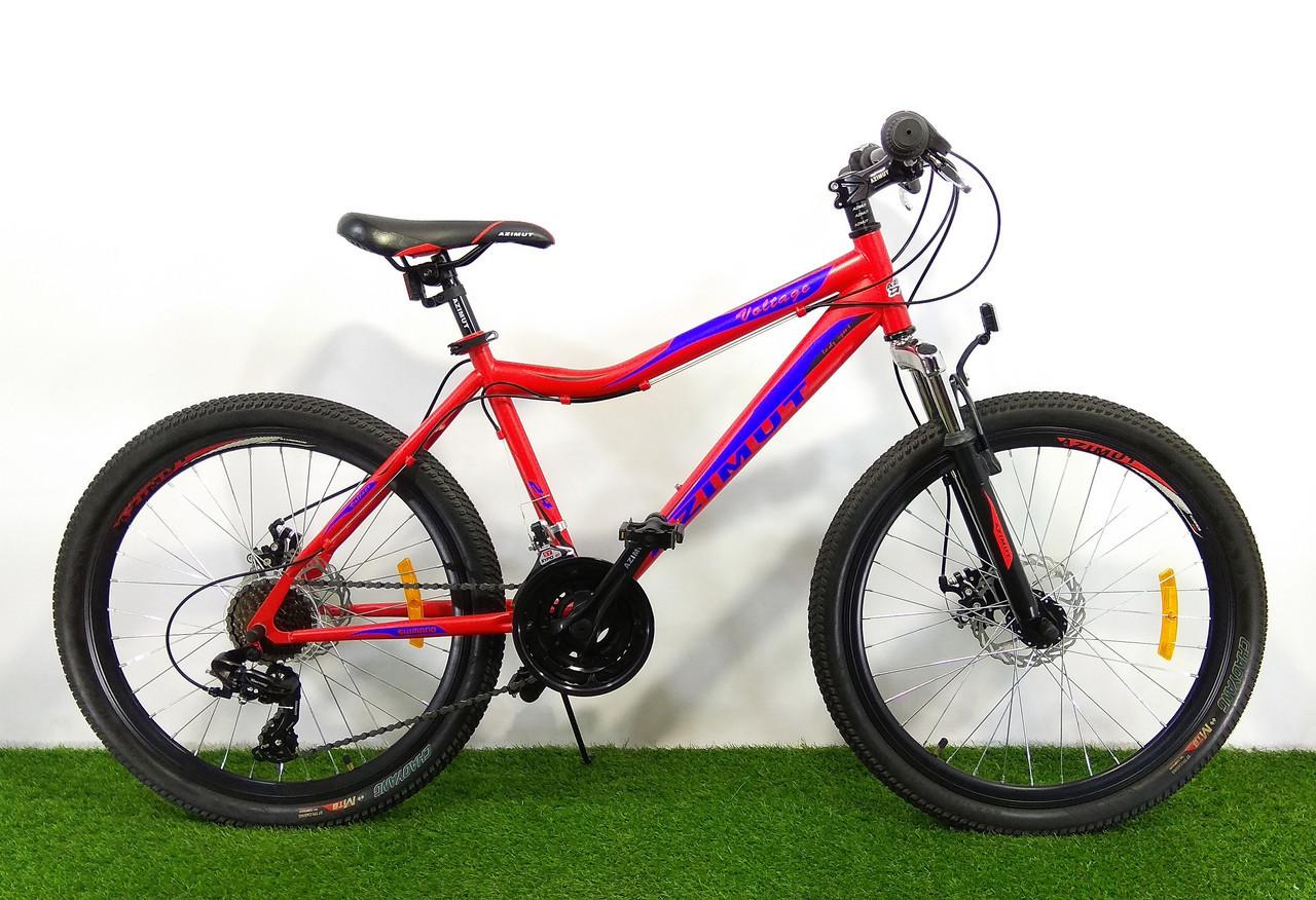 Горный подростковый велосипед Azimut Voltage 24 GD
