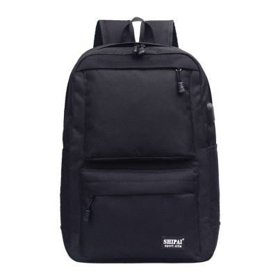 Рюкзак черный с USB