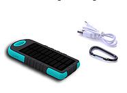 Power bank Solar портативный аккумулятор на солнечной батарее Павербанк, фото 2