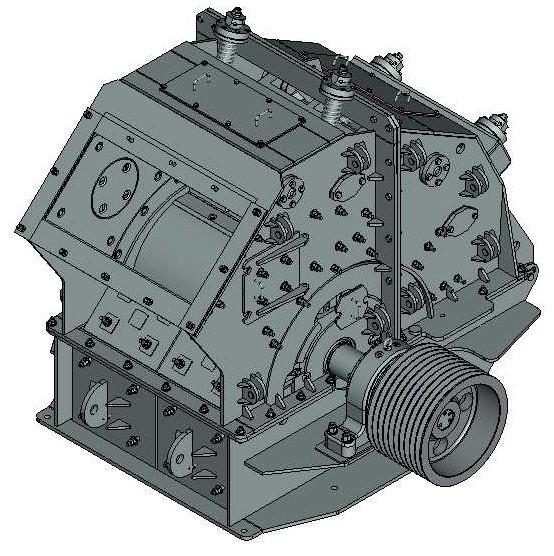 Дробилка роторная ДРК-8х6 крупного дробления