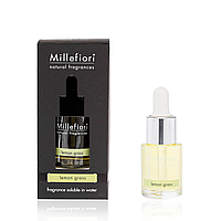 Аромамасло ультразвукового диффузора Millefiori NATURAL 15 мл. Lemon Grass (7FILG)