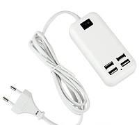 Адаптер на 4 USB зарядное устройство HUB 220v