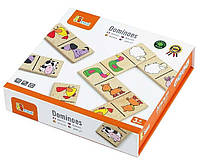Игра Домино Животные Viga toys (59622), фото 1