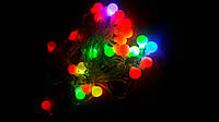Светодиодная гирлянда Шарики, 28 led лампочек, 4,5 м, фото 1