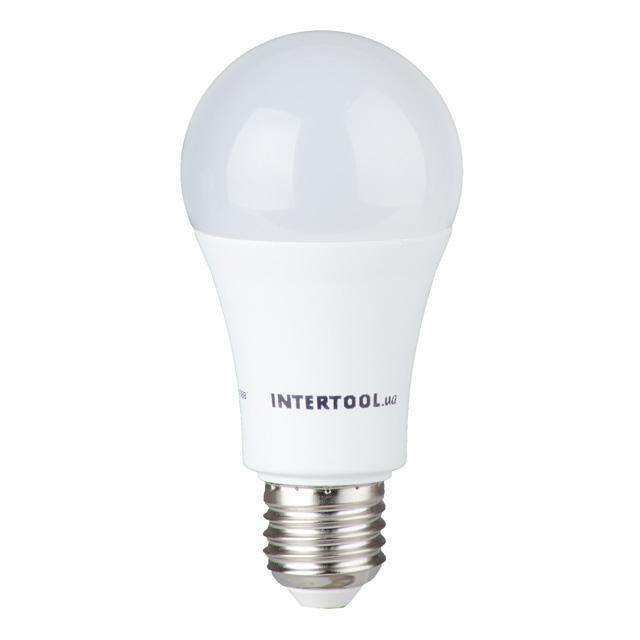 Светодиодная лампа LED 15Вт, E27, 220В, INTERTOOL LL-0017