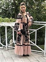 Вечернее нарядное платье - на фото наша клиентка
