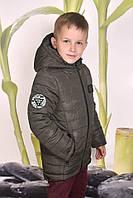 Детская куртка парка для мальчика подростка зима