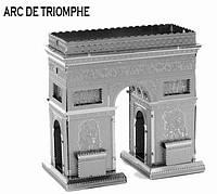 Металлический конструктор  Триумфальная Арка коллекционная модель