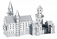 Металлический конструктор Монастырь коллекционная модель