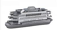 Металлический конструктор Корабль коллекционная модель