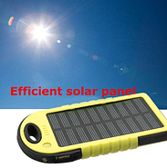 Power bank Solar портативный аккумулятор на солнечной батарее Павербанк, фото 3