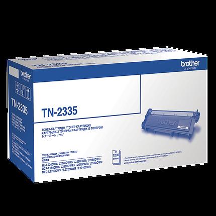 Картридж Brother TN2335, Black, DCP-L2500/L2520/L2540/L2560, HL-L2360/L2365, MFC-L2700/L2720/L2740, 1.2k, OEM, фото 2