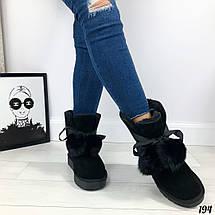 Угги на шнурках женские, фото 3