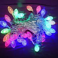 Светодиодная гирлянда Шишки, 28 led лампочек, длина 4,5 м, фото 1
