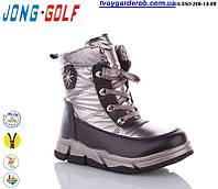 Стильные ботинки дутики для девочки р.32-36 (код 2964-00)