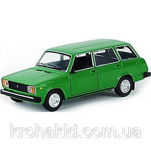 """Машина металл 2104 """"АВТОПРОМ"""",1:24 зеленый, фото 2"""
