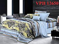 Постельное белье, семейный комплект Ранфорс-Платинум. VILUTA (Вилюта)  VРП 12650