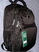 Рюкзак Naerdvo 291220 черный спортивный школьный  с отделом для ноутбука
