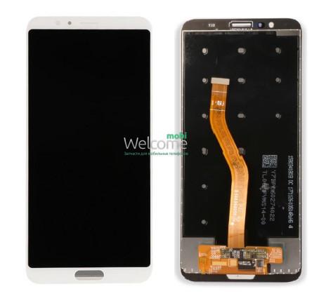 Модуль Honor View 10 white, дисплей экран, сенсор тач скрин хонор