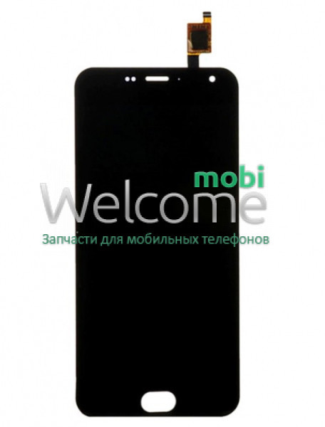 Модуль Meizu M2/M2 mini (M578) black, дисплей экран, сенсор тач скрин мейзу