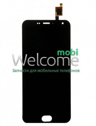 Модуль Meizu M2/M2 mini (M578) black, дисплей экран, сенсор тач скрин мейзу, фото 2