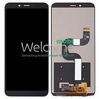 Модуль Xiaomi Mi A2/Mi6X black, дисплей экран, сенсор тач скрин сяоми ксиоми