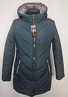 Хит!!! Стеганная зимняя женская куртка очень теплая  Норма  Батал  48р, 50р, 52р, 54р, 56р  зеленая