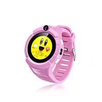 Детские Смарт часы с GPS Q610  (Smart Baby Watch) Умные часы Розовые, фото 1
