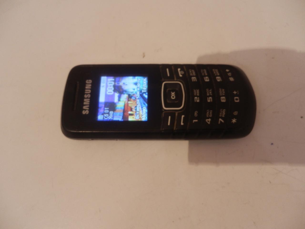 Мобильный телефон Samsung e1080w №7136