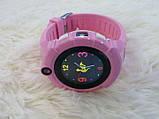 Детские Смарт часы с GPS Q610  (Smart Baby Watch) Умные часы Розовые, фото 4