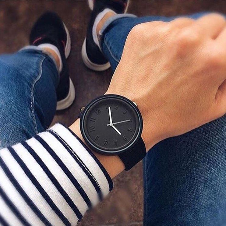 Женские часы Casual style черные, жіночий наручний годинник, женские наручные часы