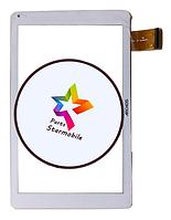 Сенсор экран для планшета PIXUS Hipower 10,1 3G (256*156), белый (p/n: CN068FPC-V1 )
