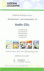 Footprint Reading Library 1600 B1 Audio CDs