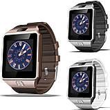 Смарт-часы (Smart Watch) Умные часы DZ09 Белые, фото 6
