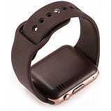 Смарт часы Smart Watch A1 Gold/Brown, фото 3