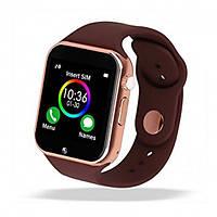 Смарт часы Smart Watch A1 Gold/Brown, фото 1
