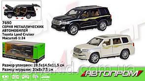"""Машина метал 7690 """"АВТОПРОМ""""1:24 Toyota черный, фото 2"""