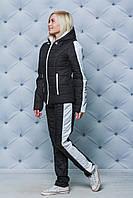 Женский зимний спортивный костюм черный