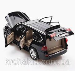 """Машина метал 7691 """"АВТОПРОМ""""1:24 Lexus LX570 черный, фото 3"""