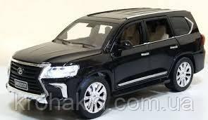 """Машина метал 7691 """"АВТОПРОМ""""1:24 Lexus LX570 черный"""