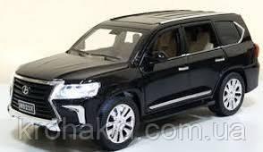 """Машина метал 7691 """"АВТОПРОМ""""1:24 Lexus LX570 черный, фото 2"""